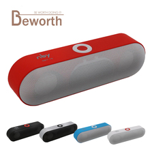 NBY-18 Mini Bluetooth Speaker Portable Wireless Speakers Sound System 3D HD Stereo Surround Boombox Music FM Radio TF AUX USB(China)