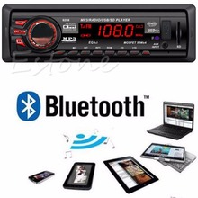 Bluetooth Car In-dash Radio Stereo Audio Head Unit MP3/USB/SD/AUX-IN/FM Player(China)