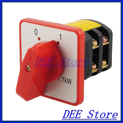 AC 380V 10A 2 PositionS Rotary Cam Universal Changeover Switch Viymw<br><br>Aliexpress