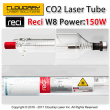 Cloudray Reci W8 150W CO2 Laser Tube Wooden Case Box Packing Length 1850 Dia. 90mm for CO2 Laser Engraving Cutting Machine S8 Z8