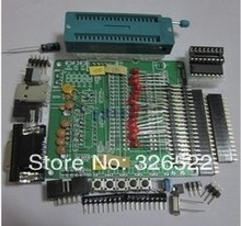 2LOT DIY learning board kit suit the parts 51/AVR microcontroller development board learning board STC89C52 +free shipping(China)