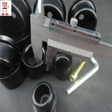 Thicker Black 25mm Diameter Soldering iron tips PPR Welding Machine Parts, PPR Pipe Butt Welding Die Head, Welding Molds