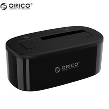 "ORICO 6218US3 HDD Docking Station 5Gbps Super Speed USB 3.0 to SATA Hard Drive Docking Station for 2.5''/ 3.5"" Hard Drive"