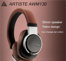 Artiste ARKON AWM130 50mm Driver Dynamic HIFI Deep Bass Stereo Music Computer MP3/4 PHone Headphones Headset w/ 4M Audio Cable