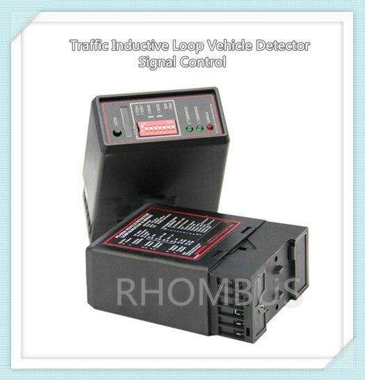 12VAC/DC Traffic Inductive Loop Vehicle Detector Signal Control<br>
