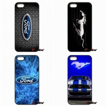 For Huawei Ascend P6 P7 P8 P9 P10 Lite Plus 2017 Honor 5C 6 4X 5X Mate 8 7 9 Ford Mustang GT Concept Logo Mobile Phone Case(China)