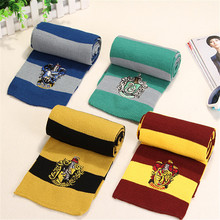 cosplay Harri potter Scarf Scarves Gryffindor/Slytherin/Hufflepuff/Ravenclaw Scarf Scarves Cosplay Costumes Gift