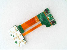 Main flex cable with keypad flex cable for nokia E66 phone ( No Camera )/XY