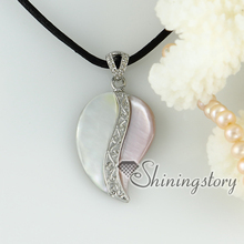 white oyster shell pink oyster shell rainbow abalone Shell necklaces pendants pink white mop jewellery Hand made jewelry