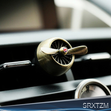 Air force 2 creative car outlet vent clip air freshener perfume fragrance scent sweet smell aromatic cologne bouquet