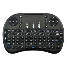 Mini i8 Wireless Keyboard 2.4Ghz English Russian Hebrew Keyboard Touchpad Remote Control For Android TV Box Notebook Tablet PC