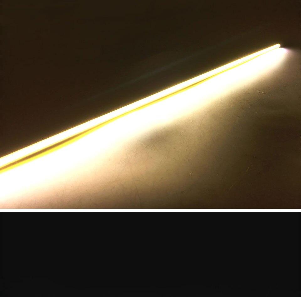 600x6mm LED Light Strip 60cm 12V 20W 3000K 6500K White Color COB LED Bar Lights for Car Lighting Bulb House Work Lamp DIY (17)