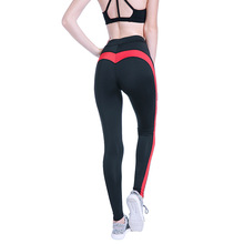 Buy Sport Women Yoga Leggings Push Love Skinny Pants Sexy Ladies Black Slim Leggings High Waist Hip Solid Long Trousers Women for $9.57 in AliExpress store