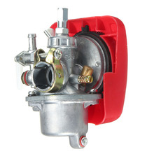 Carburetor 50cc 60cc 66cc 80cc 2 Stroke Red Engine Motor Motorized Bicycle Bike Carb(China)