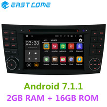 Android 7.1.1 Quad Core 2GB RAM+16GB for For Mercedes Benz W211 W463 W219 W209 E G CLK CLS Class Car DVD Player GPS Stereo Radio