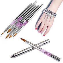 Nail Art Brush Phototherapy Suit Pen Nail Brushes Pens Crystal pen for Nails  #M02161