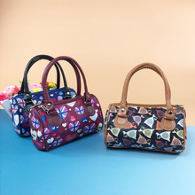 New Fashion High Qualitied Floral Luxury Ladies Tote Bag Handbag Women Famous Brands Pu Leather Shell Bags Messenger Bag 45