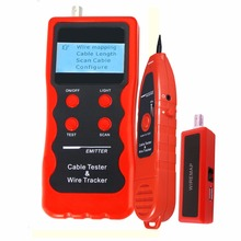 Multipurpose LCD Cable, Network, Coaxial, Telephone, USB Cable, Twin Twisted Wire, Metal Cable Tester Testing