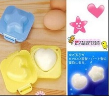 Cute 3D Heart Star Shape Boilded Egg Mould Baby Sushi Rice Mold Cutter Bento DIY Maker Cake Chocolate Tools 0120