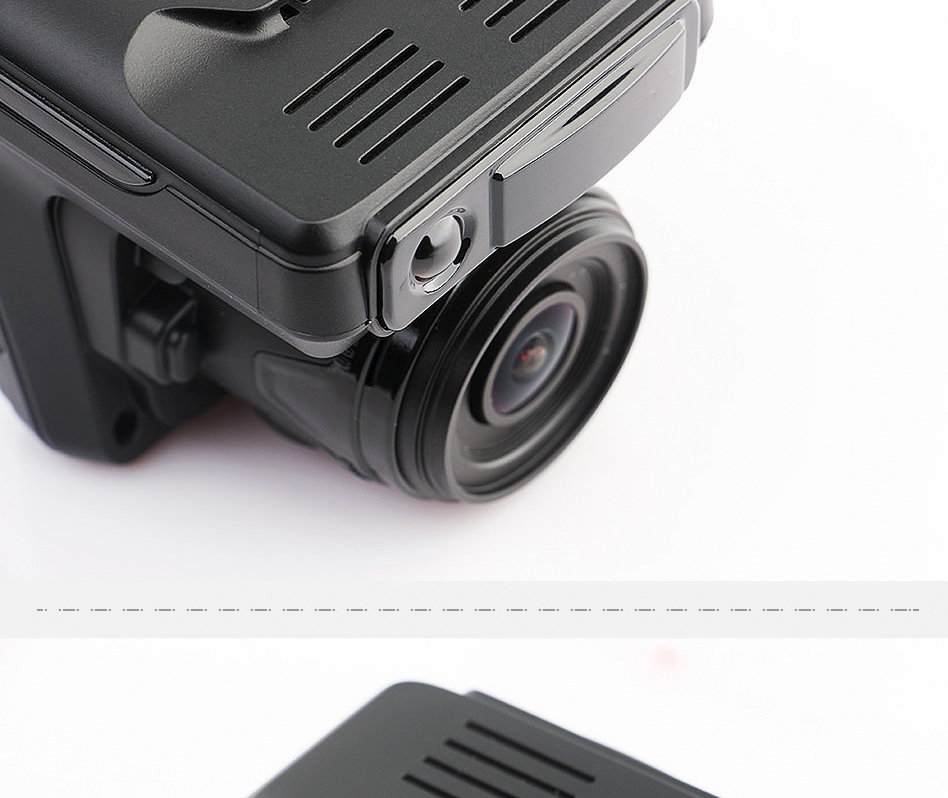 Ruccess STR-LD200-G 3 in 1 Car DVR Radar Detector Laser With GPS Full HD 1296P 1080P Dual Recorder Dash Camera Front and Rear (3)