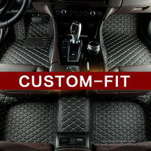 Custom Special car floor mats for Mercedes Benz A B180 C200 CL CLA G GLK300 ML class leather Anti-slip car-styling carpet liner