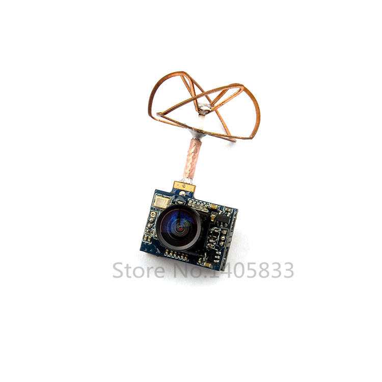 5.8G 25mw Super Mini Light Image Transmission with 520TVL Camera Racing Drone Image Transmission Combo<br>