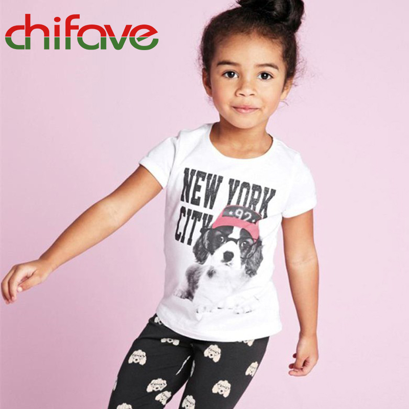 2017 New Summer Spring Unisex T-shirt Clothes Short Sleeve O-neck Letter Pullover Casual Boys Girls T-shirt 1-6 years old Kids<br><br>Aliexpress