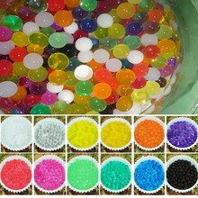 13 kinds of colors 7000 PCS Water Bullet Balls Beads Mud Grow Magic Jelly  sand kids polymer clay tools slime-toys #XTT