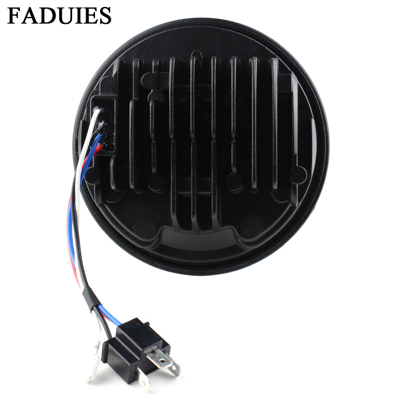 FADUIES 2018 New 5.75 inch Motorcycle Adaptive Cornering Led headlight For Harley 5-34 Motorcycle Black Projector Daymaker (6)
