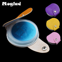 Popular nail art discs buy cheap nail art discs lots from china moglad 24slots nail art template foldercasebagholder for dia 55cm small round mjqhehe stamp stamping disc plates album prinsesfo Images