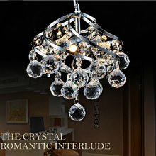 250mm Modern Luxury Fixture K9 Crystal Hanging Wire Ball Pendant Light Ceiling Living Room Chandelier E14 LED Bulb Lamp Lighting(China)
