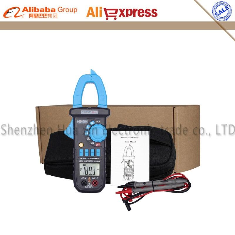 Bside ACM03 Plus Digital Clamp Meter Multimeter AC DC Current Voltage Resistance Capacitance Hz Tester NCV Function<br>