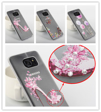 Buy Samsung S7 Edge Case,Crystal Rhinestone Bling Diamond 3D Hard Plastic Cover Case Samsung Galaxy S7 Edge Cell Phone Cases for $1.82 in AliExpress store