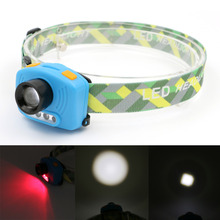 Professional 3 Mode Waterproof LED Headlamp Mini Headlight Head Light Infrared Sensor Switch Operated For Riding Camping Outdoor(China)