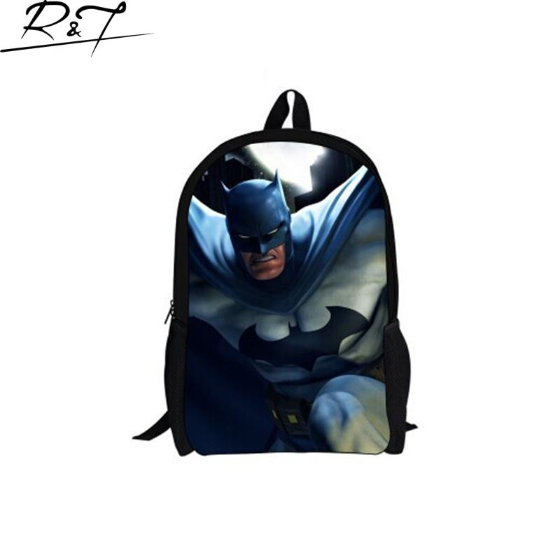 2016 New Cool Super Man Children School Backpack For Boys Cute Cartoon Unique Backpacks For Boys Kids Backpack<br><br>Aliexpress