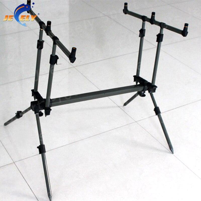 Free Shipping JY119-2 Adjustable Alumimum Carp Fishing Rod Pod,Bite alarm Rod Pod<br><br>Aliexpress