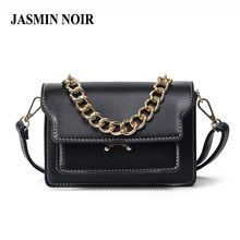 2017 New Spring Women Chains Small Flap Cross Body Bag Lady Vintage Retro PU leather Totes Handbag Female Dating Messenger Bags(China)