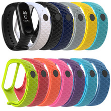 Buy Silicone Wrist Band Strap Xiaomi Mi Band 3 Smart Band Bracelet Fitness Tracker 13 Colors Replacement Straps Wristband for $1.41 in AliExpress store