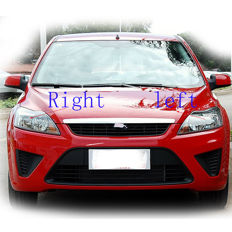 Ford C Max Mk2 2010-2016 Chrome Front Headlight Headlamp Pair Left /& Right