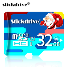 Xmas Especially Edition Quality Micro SD Card 8GB 16GB 32GB 64GB 128GB Flash Memory Device Card Flash Memory card for Smartphone(China)