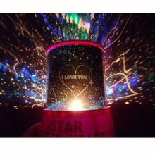 MUQGEW Birthday  Gifts Bedroom Decoration Bright Illumination Unique Cupid Projection Lamp Sky Lover Star Light Starry Sky
