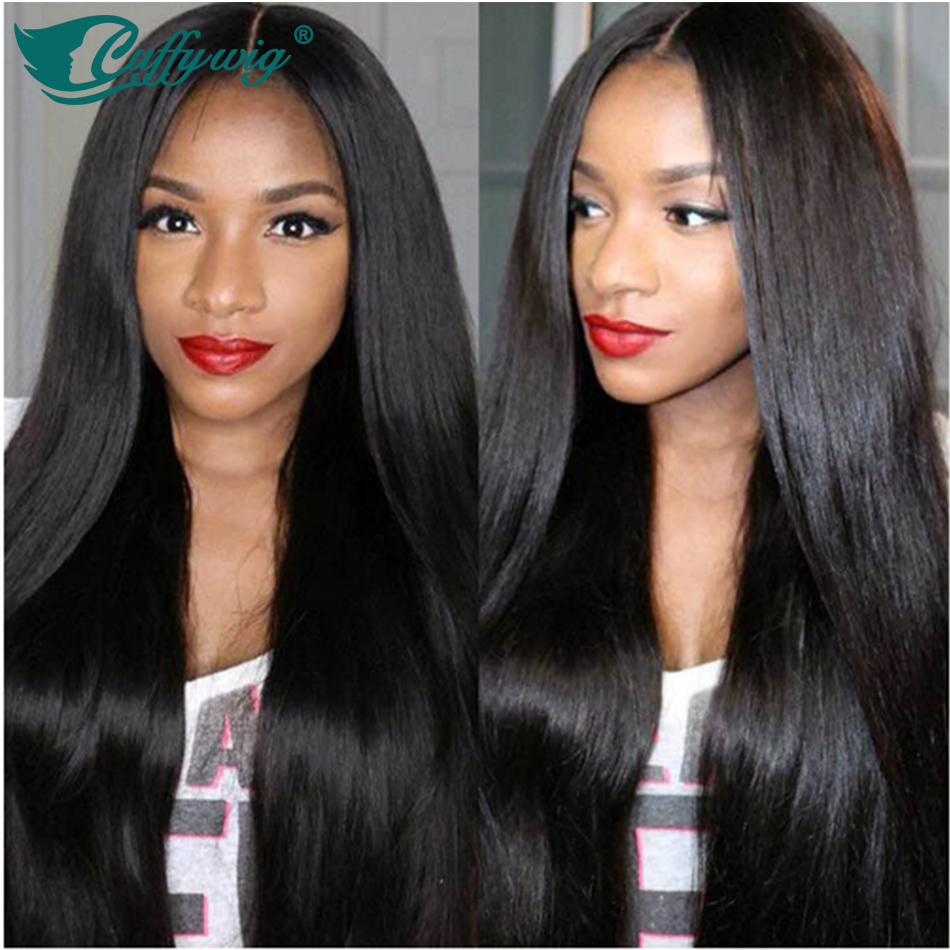 Wholesale Silky Straight Lace Front Wig Virgin Brazilian Human Hair Straight Wigs Unprocessed Glueless Lace Front Human Hair Wig<br><br>Aliexpress