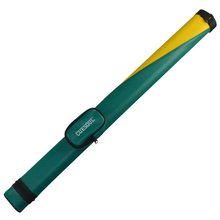 Cuesoul Two Tone 1 Butt X 1 Shaft Pool Cue Tube Case Green Billiard Canister(China)