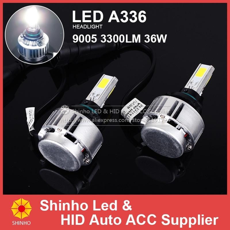 36W 3300lm H7 H8 H9 9004 9007 H13 H4 9003 HB3 HB4 9006 9005 LED No Fan LED Headlight Car ALL In One Headlamp Bulbs Head Light<br><br>Aliexpress