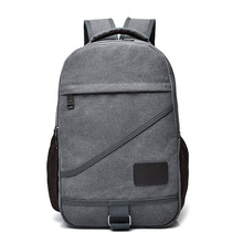 2017 Hot High Quality Fashion Trend Shoulder Bag Men and Women Casual Canvas Computer Backpack Retro Travel General Backpack