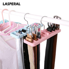 Multifuction Storage Rack Tie Belt Organizer Rotating Ties Hanger Holder Closet Organization Wardrobe Finishing Rack Space Saver(China)