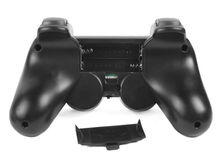 YGCDO 2X New Black Wireless Shock Game Controller for  PS2 Free Shipping