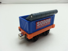 Thomas & Friends Blue Transport Tall Carbo Truck Metal Toy Train Loose Brand New In Stock & Free Shipping(China)