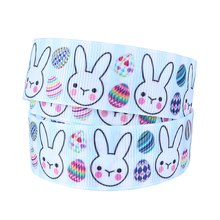 (50yards/lot)FLORA Ribbons wholesale Easter printed ribbon(China)