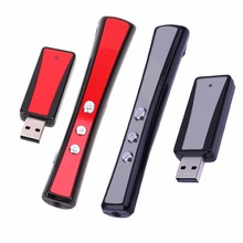 2.4GHz USB Wireless Power Point PPT Presenter Remote Control RC Laser Pointer(China)